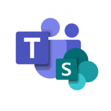 Application logos of Microsoft Teams ja Sharepoint